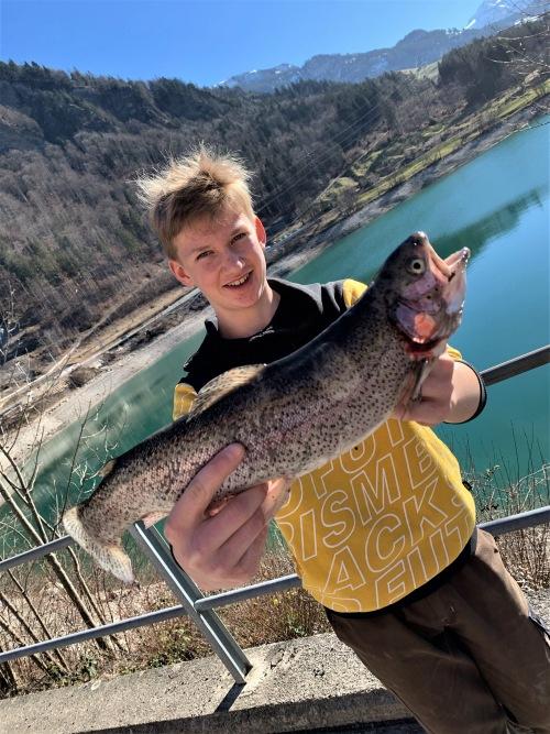 21.02.2021 Ziswiler Fabio-Regenbogenforelle 47cm 1.25kg